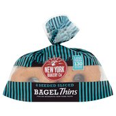 New York Bagel Co Seeded Bagel Thins