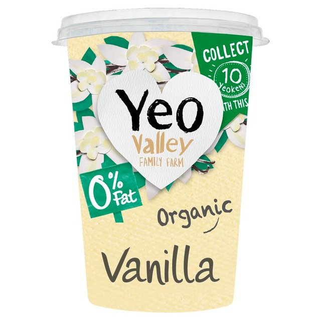 Yeo Valley Organic 0% Fat Vanilla Yogurt