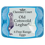 Clarence Court Cotswold Legbar Free Range Blue Eggs