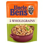 Uncle Bens Five Wholegrains Microwave Rice