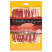 Cumbrian Sausage Smoked Streaky Bacon