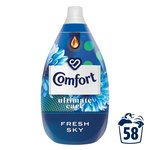 Comfort Intense Sky Fabric Conditioner 60 Wash