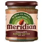 Meridian Almond Butter Smooth 100% Nuts