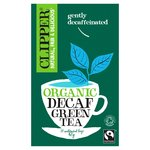 Clipper Organic Fairtrade Decaf Green Tea Bags