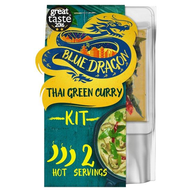 Blue Dragon Thai Green Curry 3 Step Kit Ocado