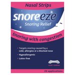 Snoreeze Small/Medium Nasal Strips