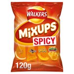 Walkers Mix Ups Snacks Mix Spicy