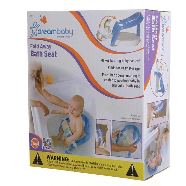 Dreambaby Easy Open/Close Fold Away Bath Seat from Ocado