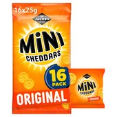 Jacob's Mini Cheddars 25g x