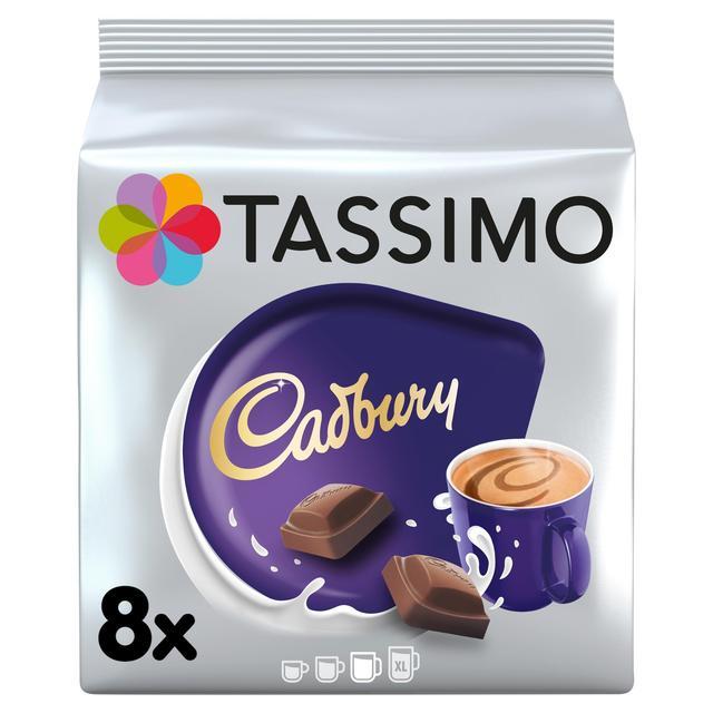 Tassimo Cadbury Hot Chocolate Pods Ocado
