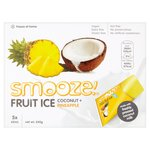 Smooze Pineapple Fruit Ice Lollies