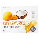 Smooze Coconut & Mango Fruit Ice Lollies