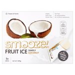 Smooze Simply Coconut Fruit Ice Lollies