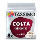 Tassimo Costa Cappuccino Coffee Pods