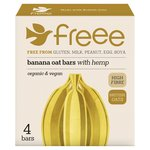Doves Farm GF Banana & Hemp Organic Flapjacks