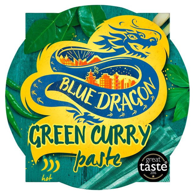 Blue Dragon Thai Green Curry Paste Pot Ocado