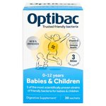 OptiBac Probiotics for Babies & Children Sachets