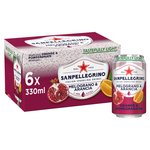 San Pellegrino Pomegranate & Orange