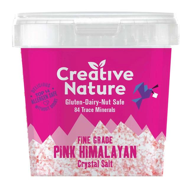 Creative Nature Fine Pink Himalayan Crystal Salt