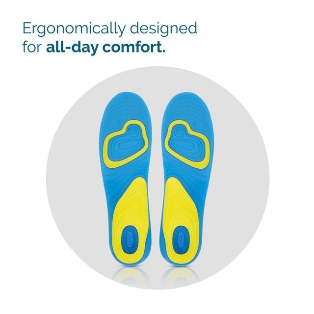 scholl gel activ everyday shock absorption insoles