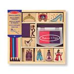 Melissa & Doug Princess Stamp Set, 4yrs+
