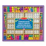 Melissa & Doug Wooden Stringing Beads, 4yrs+
