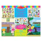 Melissa & Doug Reusable Sticker Pad Fairies, 3yrs+