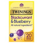 Twinings Blackcurrant & Blueberry Tea Bags