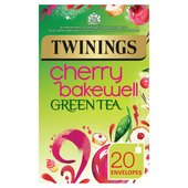 Twinings Cherry Bakewell Green Tea