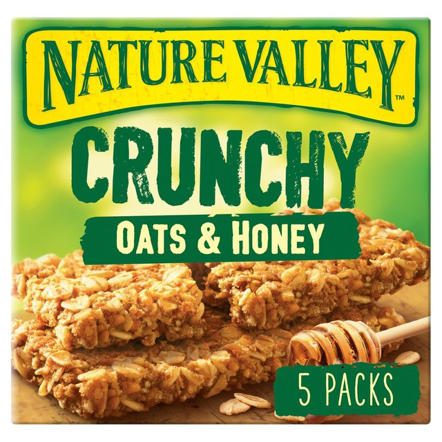 granola valley oats bars nature honey crunchy cereal tesco nutrition oat label ocado morrisons 42g offer groceries recipe leave