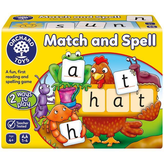 Orchard Toys Match & Spell, 4yrs+ | Ocado