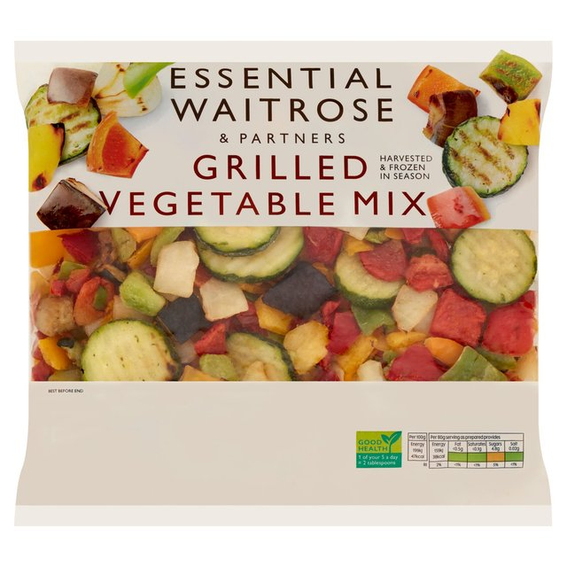 Frozen Mixed Grilled Vegetables essential Waitrose - Minimum spend �40