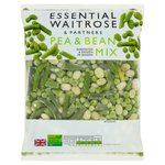 Essential Waitrose Frozen Pea & Bean Mix