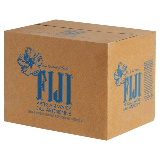 Fiji Natural Artesian Water 16 9 Fl Oz Pack Of 24 Bottles: Fiji Natural Water 12 X 1L From Ocado