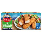 Birds Eye 12 Wholegrain Fish Fingers Frozen