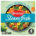 Birds Eye Steamfresh 4 Family Favourites Mix Frozen