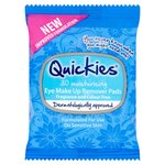 Quickies Eye Make-Up Remover Pads