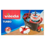 Vileda Easy Wring & Clean Turbo Mop & Bucket Set