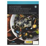 Scottish Mussels in Cider & Bacon Sauce