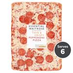 Essential Waitrose Cheese & Pepperoni Sharing Slab Pizza