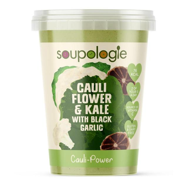 Soupologie Super Boost Soup Cauliflower & Kale with Black Garlic