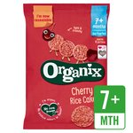 Organix Cherry Rice Cakes