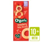 Organix Strawberry Baby Biscuits