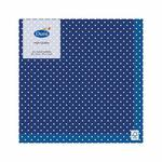 Blue Spotty 3ply Paper Napkins, 33cm