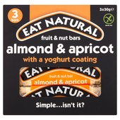Eat Natural Almond & Apricot Bars