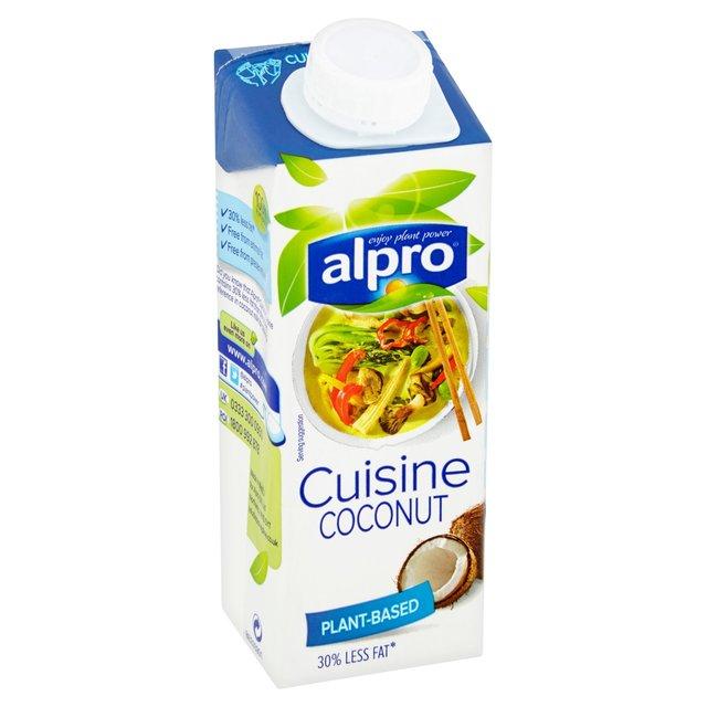 Alpro fresh coconut cream alternative 250ml from ocado for Alpro coconut cuisine