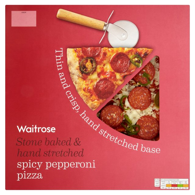 Italian Style Hot & Spicy Pepperoni Pizza Waitrose