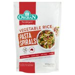 Orgran Gluten Free Vegetable Rice Pasta Spirals