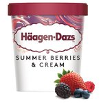 Haagen-Dazs Summerberries & Cream Ice Cream