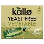 Kallo Yeast Free Vegetable Stock Cubes